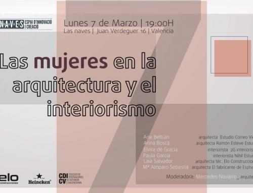 Mesa redonda: Mujeres en la Construcción, el Diseño y la Arquitectura
