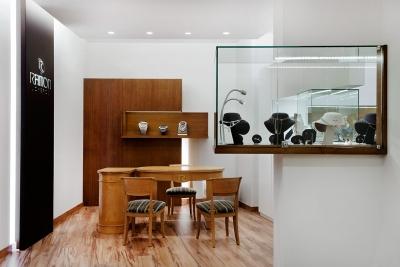 proyecto interiorismo lujo joyeria valencia