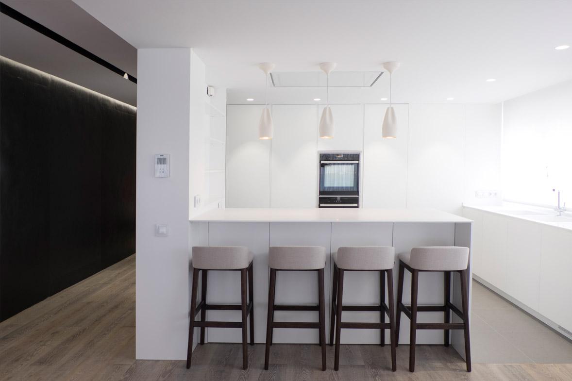 proyecto de arquitectura interiorismo apartamento lujo valencia
