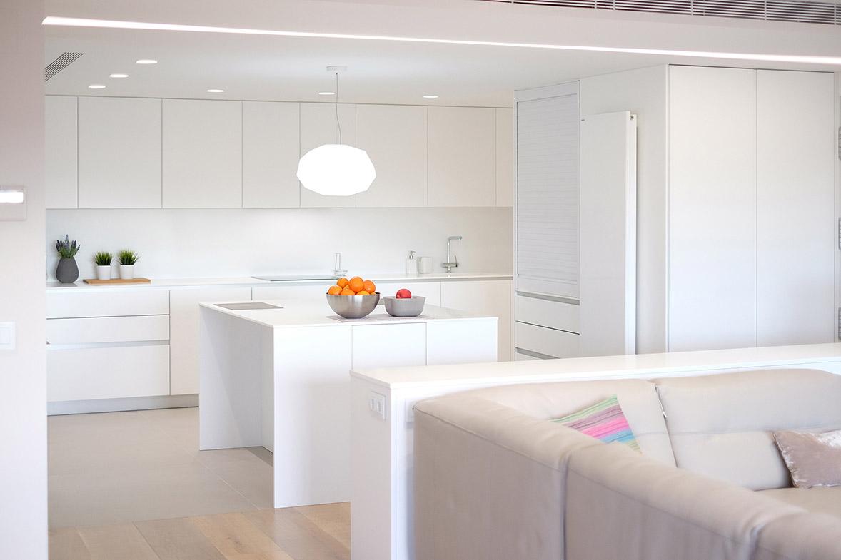 proyecto interiorismo apartamento lujo valencia