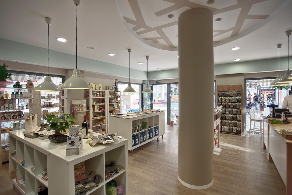 proyecto interiorismo tienda arbre de la vida valencia