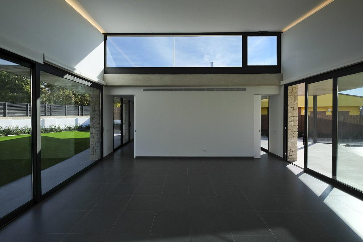 construcción vivienda lujo hormigón visto