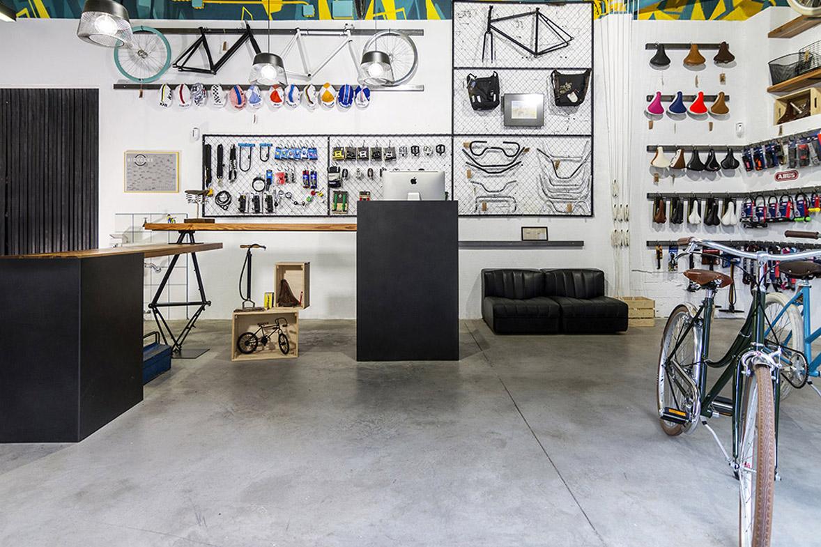 reforma de la tienda de bicicletas vuelta de tuerca