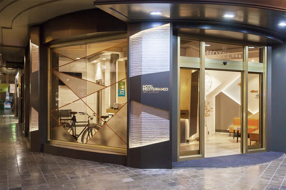 proyecto reforma interiorismo hotel mediterraneo valencia