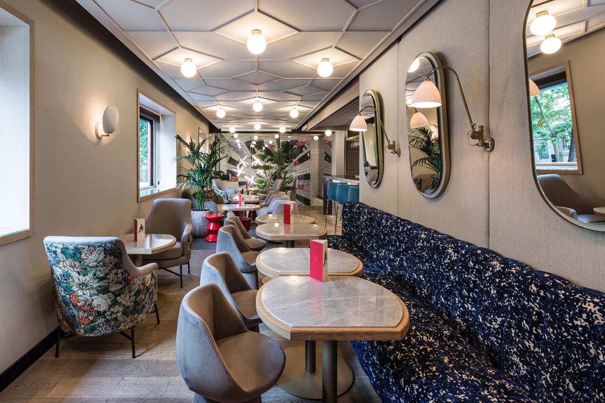 proyecto interiorismo lujo a medida restaurante xanveri