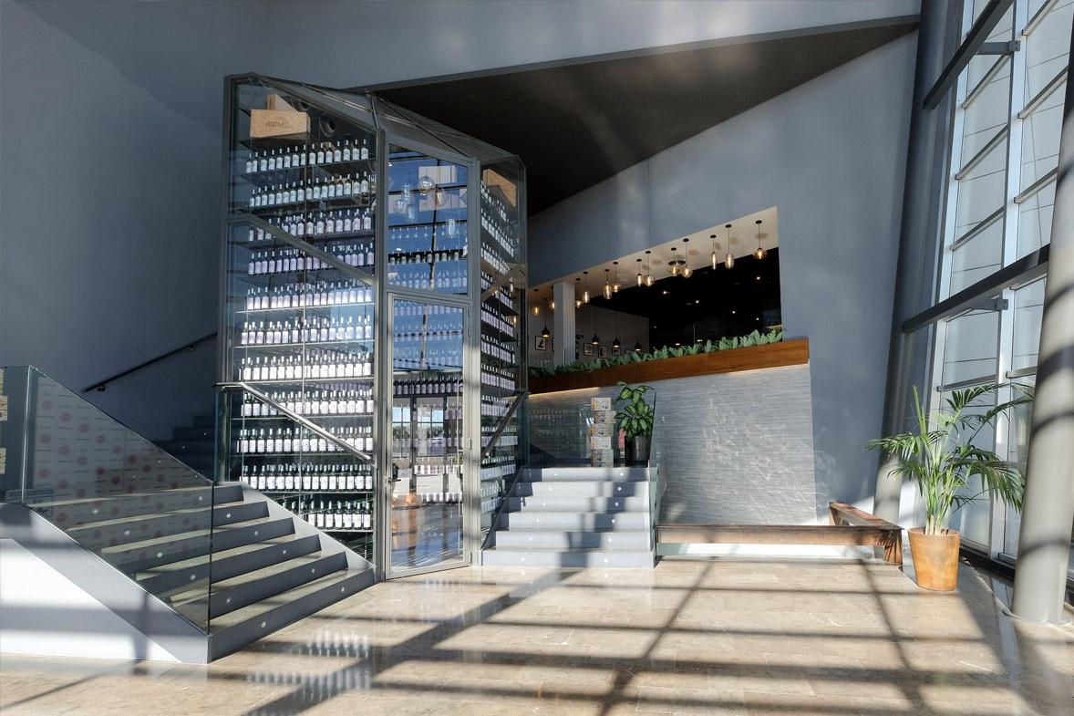 Arquitectura y diseño en restaurante colonial