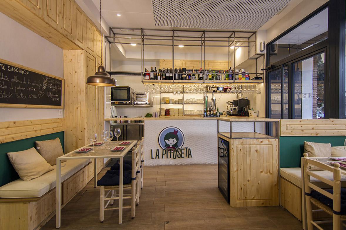 proyecto reforma integral interiorismo restaurante la pituseta