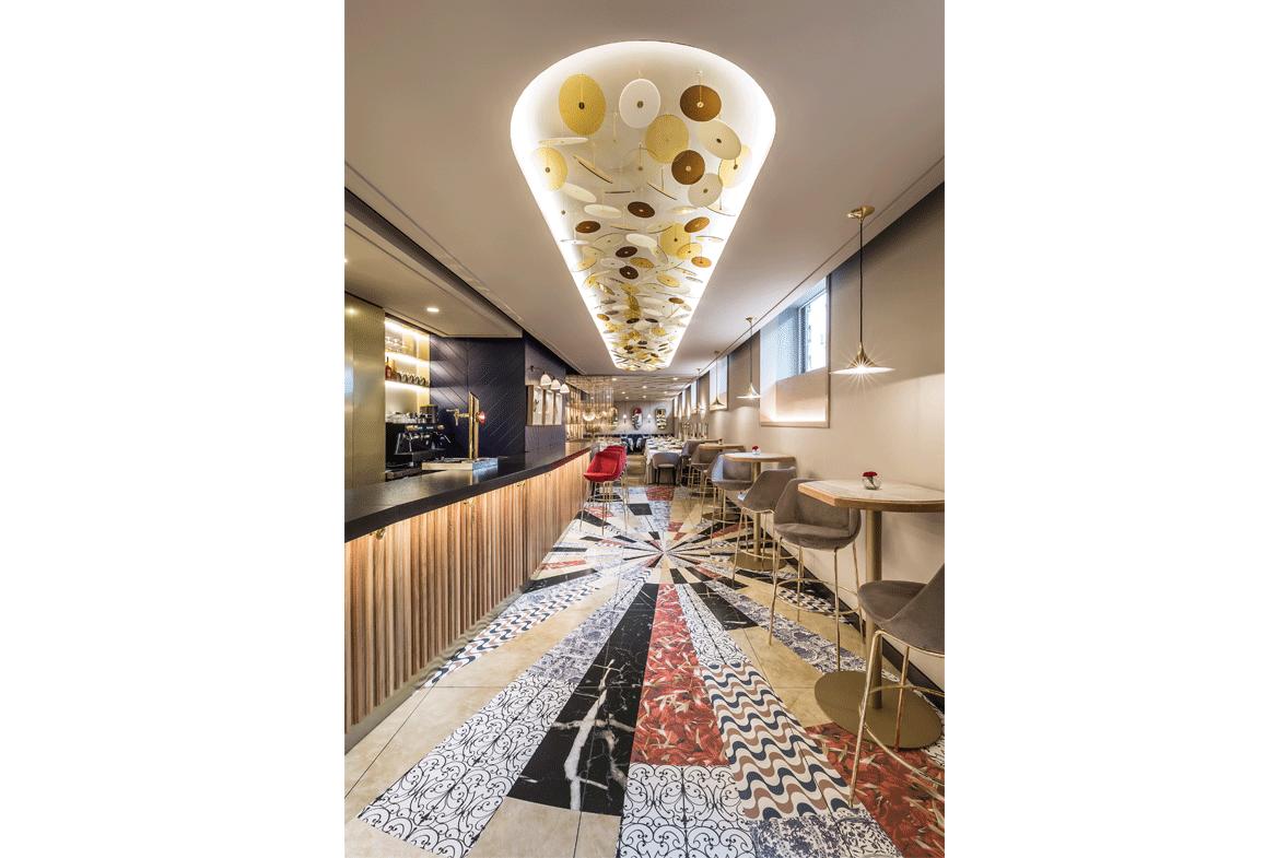 interiorismo a medida en restaurante xanveri elo construcciones estudi hac