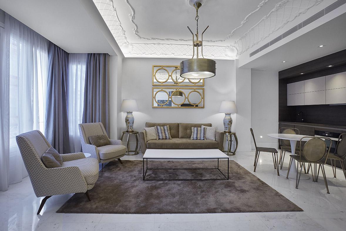 proyecto reforma interiorismo lujo apartamento diseño valencia