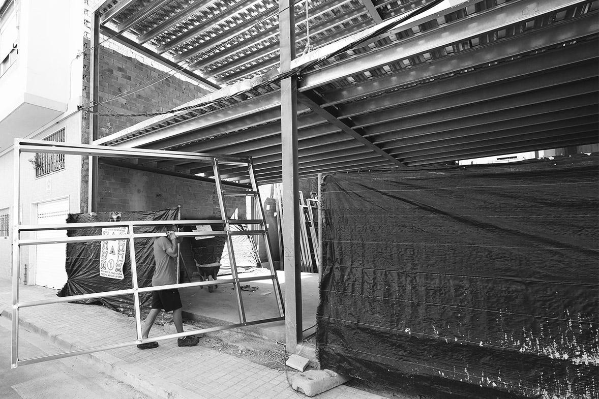 proyectos de arquitectura con sistema steel frame