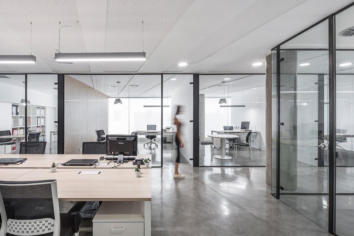 diseño de oficinas en paseo ruzafa