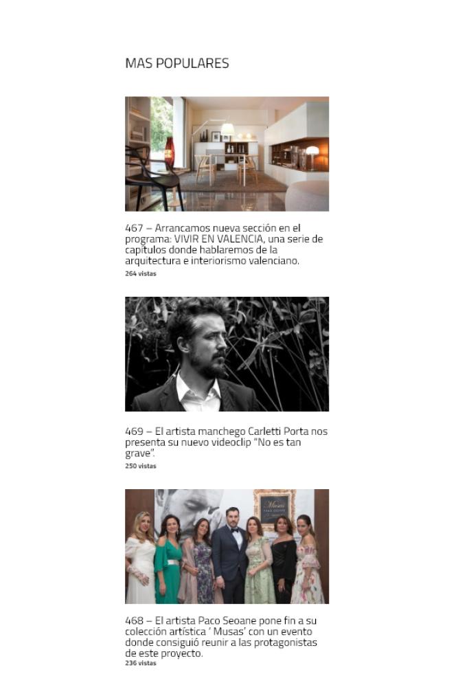 Arquitectura Interiorismo y Diseño valenciano con ELO Construcciones en levante tv